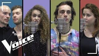 Pascal Obispo - Lucie | Xam Hurricane,Ecco, Kriill, Betty Patural | The Voice 2018| Vox des talents