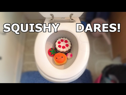 I Flush My Squishies In The Toilet!