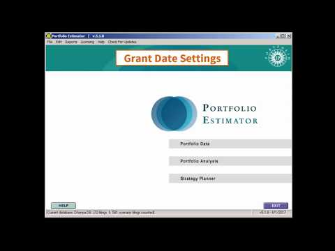Patent Grant Date Settings for Portfolio cost estimation | Foreign filing | Quantify IP