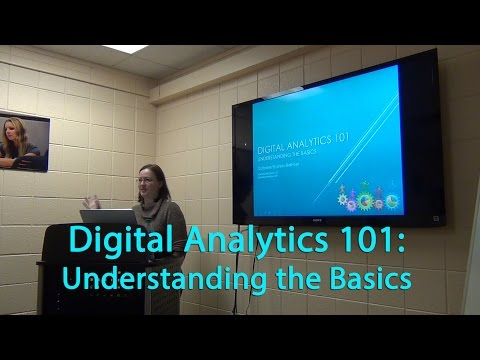 Digital Analytics 101 - November 2015