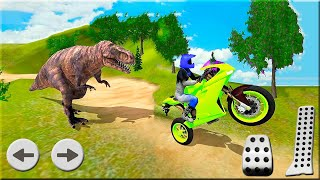 Bike Racing Dino Adventure 3D Game #Dirt Motorbike Racer Games