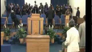 pastor mack mccollum coahoma community college choir june 2010