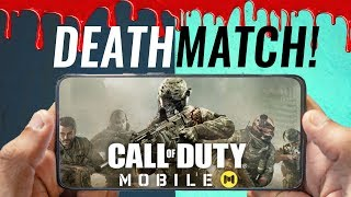 Call of Duty Mobile - Frontline & Deathmatch Gameplay!🔥