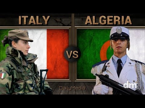 Italy vs Algeria - Army/Military Power Comparison 2018