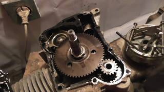 ремонт двигателя 157QMJ китайского скутера 125-150 куб. Часть 1