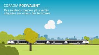 Alstom Coradia Polyvalent: nouvelles solutions vertes