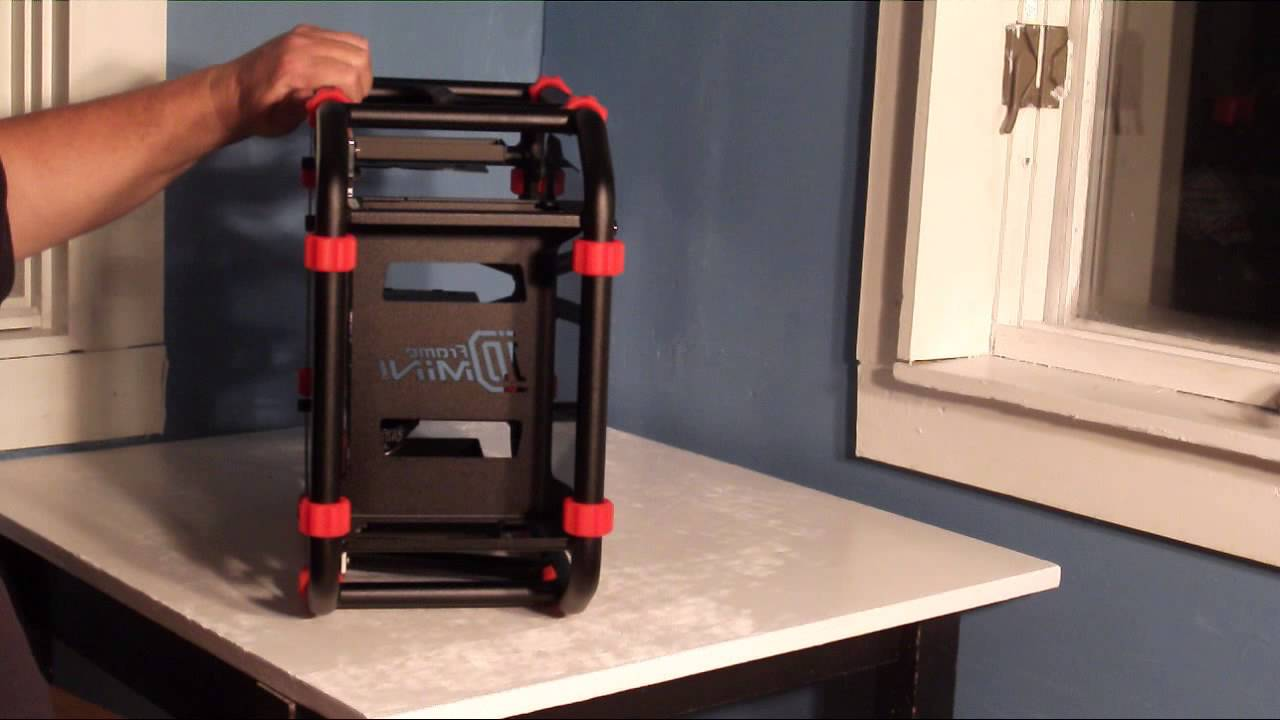product showcase in win d frame mini itx open air case youtube