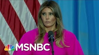 Joe And Mika React To First Lady Melania Trump's Bullying Speech | Morning Joe | MSNBC