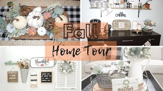 Fall Home Tour 2018 || Fall Farmhouse Decor|| WifeandMomsLife