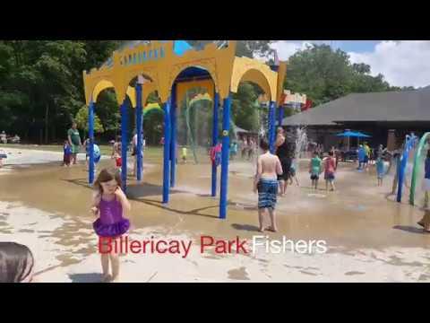 Billericay Park Splash Pad Fishers Indiana