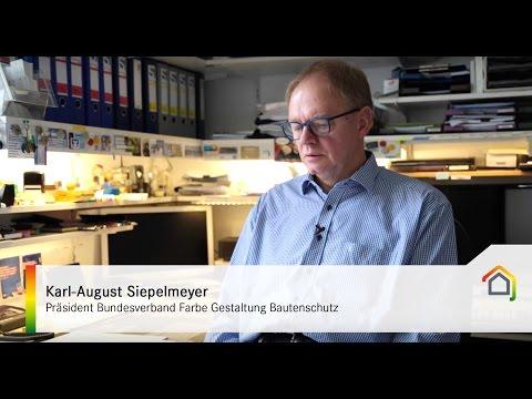 Aktuelle Entwicklungen von WDVS - Karl-August Siepelmeyer