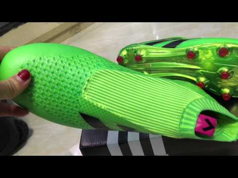 Adidas ACE 16+ Purecontrol FG Solar Green Shock Pink Core Black