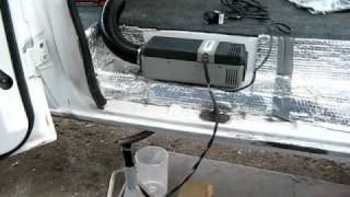 Webasto Air Top 2000 diesel heater running in Hal The Van(, 2011-03-12T07:53:00.000Z)