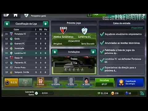Reconstruindo O Londrina No Football Manager 2019