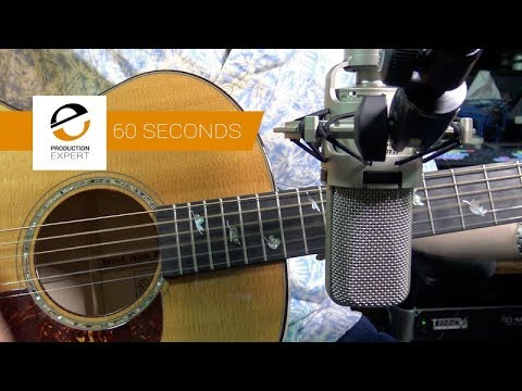 Recording Acoustic Guitar - Fit It In A Minute