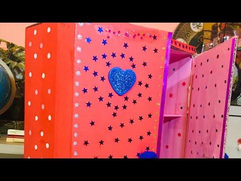 DIY Paper Cupboard | Stationary Item | secret box | school item | help full & easy work |