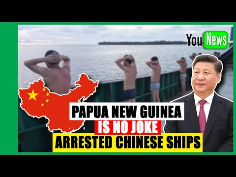 Papua New Guinea is no Joke  arrested China Ships! Australia is winning the Pacific battle against C