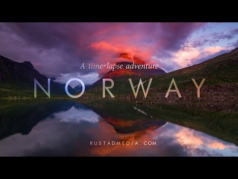 NORWAY - A Time-Lapse Adventure 4K