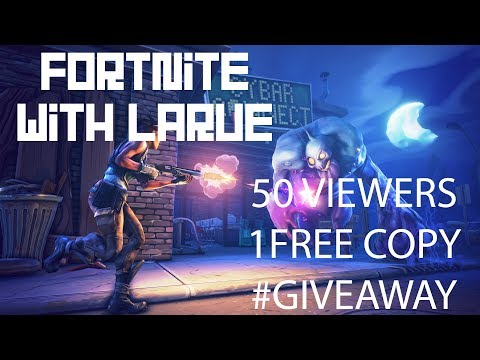 #GIVEAWAY At 50 VIEWERS!