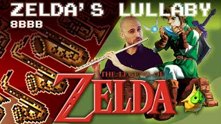 Zelda's Lullaby - Flute + Big Band Version!  (The 8-Bit Big Band)