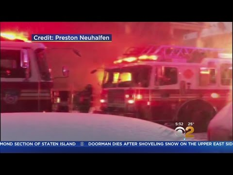 Fatal Fire On Staten Island Amid Storm