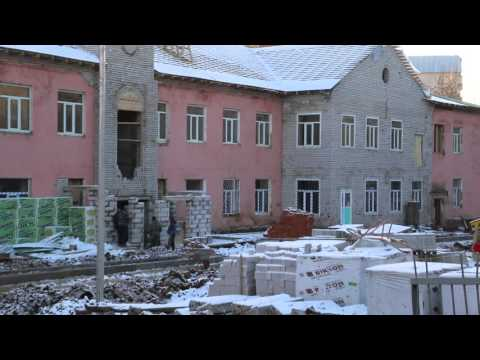 """Видео со стройки детского сада """"Ступени"""" в Кирове"""