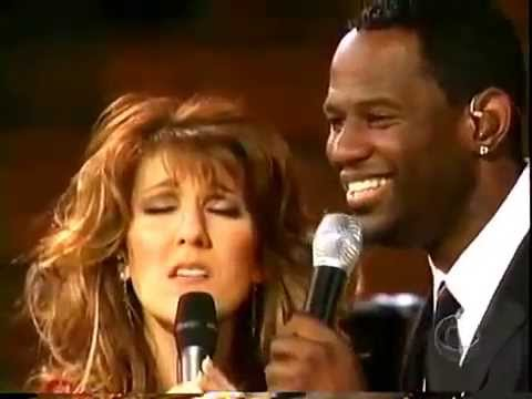 Celine Dion with Brian McKnight