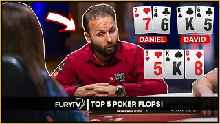 Five of the Crażiest Poker FLOPS Ever Televised!