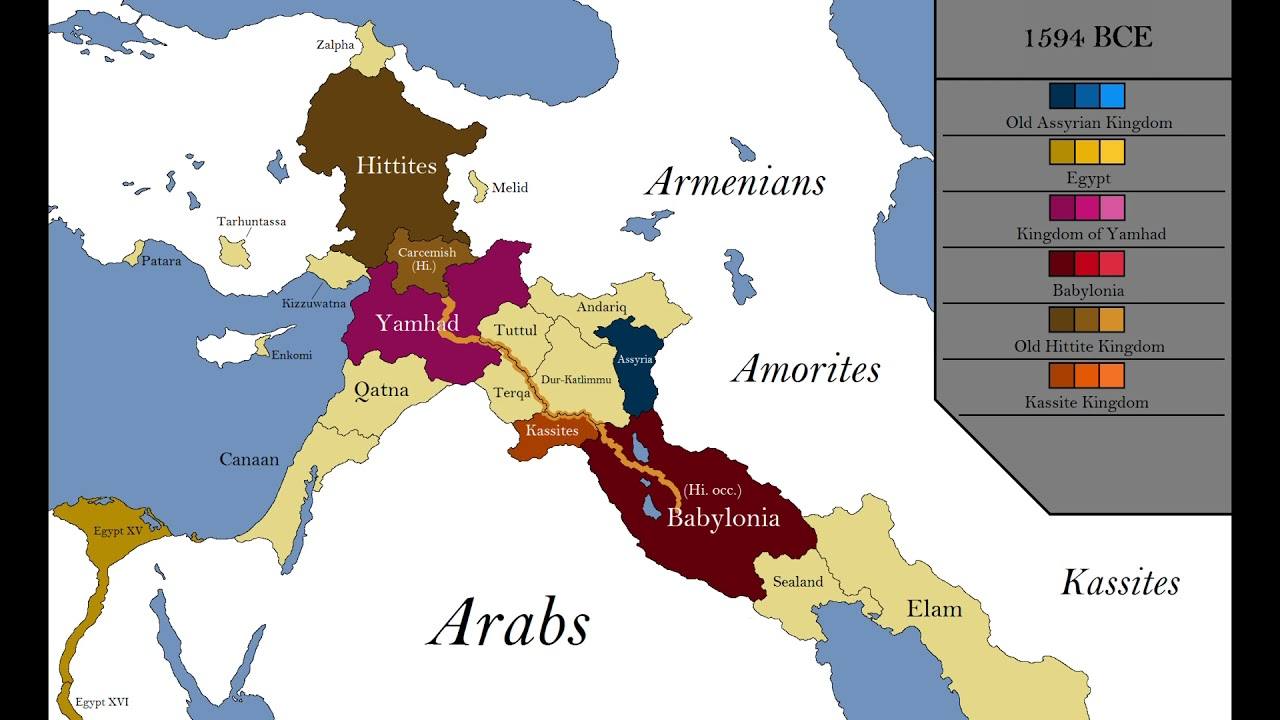 Biblical Maps Of The Middle East Youtube