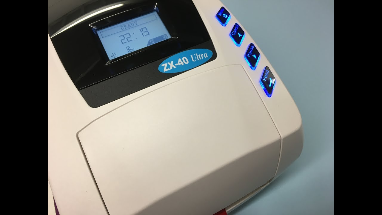 DRIVERS FOR ZX40 RIBBON PRINTER