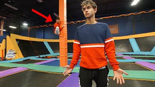 HIDE and SEEK in TRAMPOLINE PARK! Winner gets $10,000!!!