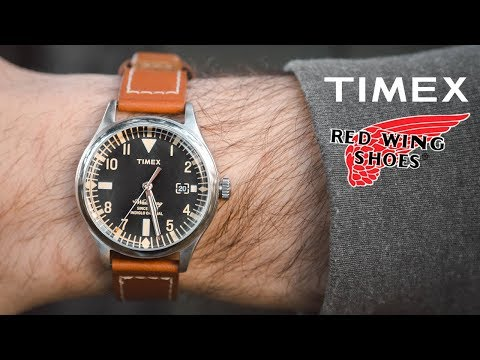 Timex Waterbury X Red Wing Strap 38mm Watch Review