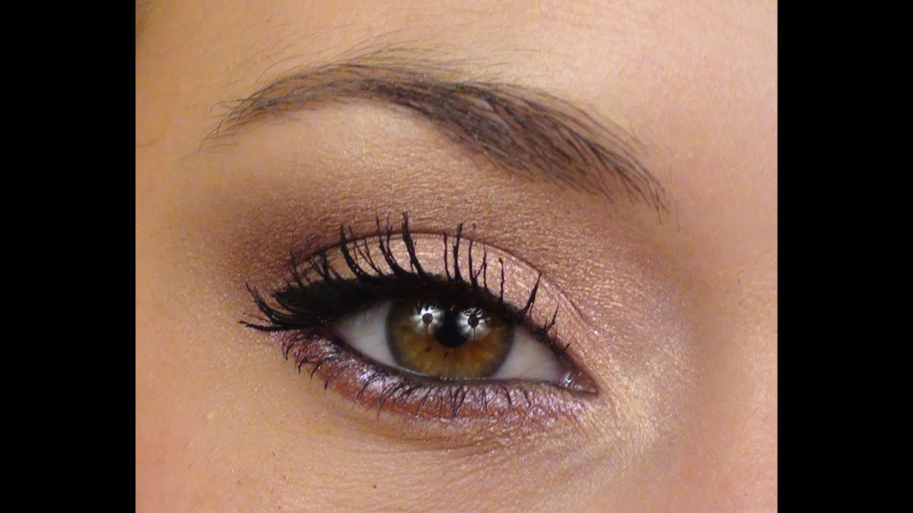 P che lumi re tutoriel maquillage doux facile lumineux youtube - Maquillage naturel yeux ...