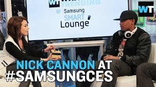 Nick Cannon Announces New TV Shows & Talks Bling Tech | What's Trending LIVE