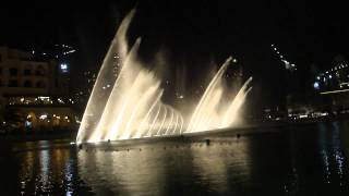 I Will Always Love You - Dubai dancing fountain