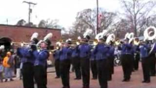 Co-Lin Blue Wave Show Band at Bude, Mississippi Christmas parade