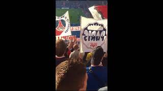 """Caen vs psg - nouveau chant du cup - ambiance ultras psg """""""