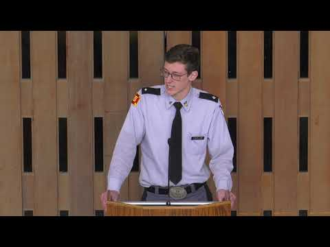 Thomas Thurlow senior speech @ St Thomas Academy 3 29 19