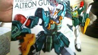 P-bandai Altron Gundam Master Grade Review (Nataku Gundam) 2