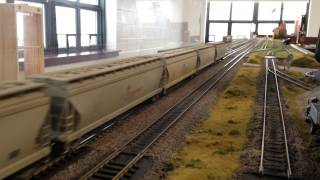 HO Scale GE 2010 Hybrid Locomotive at the Cheshire Train Show 3-1-15