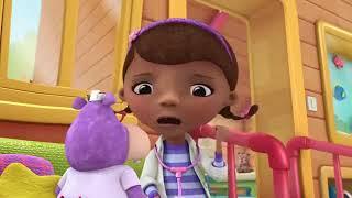 La doctora Juguetes - Barriga dolorida de Teddy  - Dibujos animados Disney Junior en Español