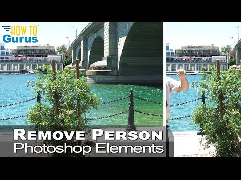 How to Remove a Person from a Picture in Photoshop Elements - Remove People Tutorial 2019 2018 15 thumbnail