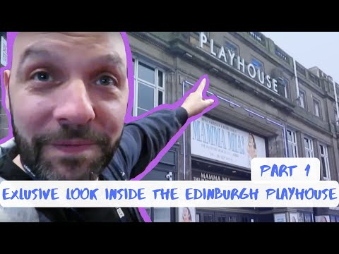 Exclusive Look Inside The Edinburgh Playhouse | Part 1