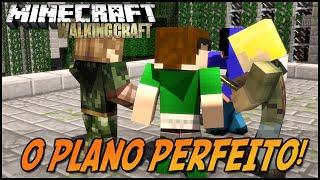 O PLANO PERFEITO! (Feat Tazercraft e JVNQ ) -  The Walking Craft