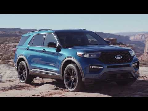 2020 Ford Explorer ST Is A 400-Horsepower Crossover [4K]
