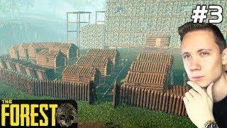The Forest PL Gameplay Kreatywny [#3] WIOSKA pod ZAMKIEM się Buduje