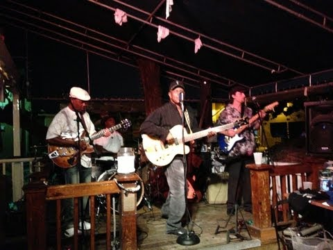 Biscuit Miller & The Mix- Hog's Breath, Key West, 8/27/13-Walk With You Baby