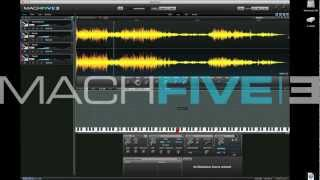 machfive 3 ircam pitch shifting and time stretching