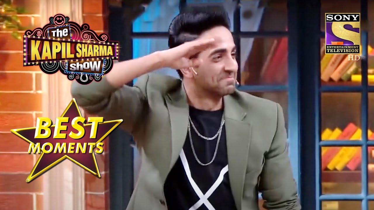 Download Ayushmann ने Baccha Yadav को किया Salute   The Kapil Sharma Show Season 2   Best Moments