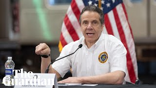 Coronavirus: New York governor Andrew Cuomo holds briefing – watch live
